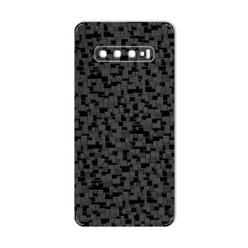 برچسب پوششی ماهوت طرح Silicon-Texture مناسب برای گوشی موبایل سامسونگ Galaxy S10