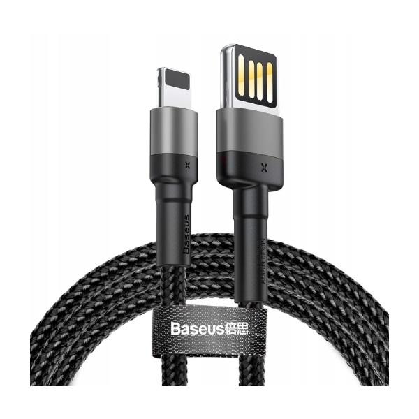 کابل تبدیل USB به لایتنینگ باسئوس مدل CALKLF-HG1 Cafule Special Edition طول 2 متر thumb