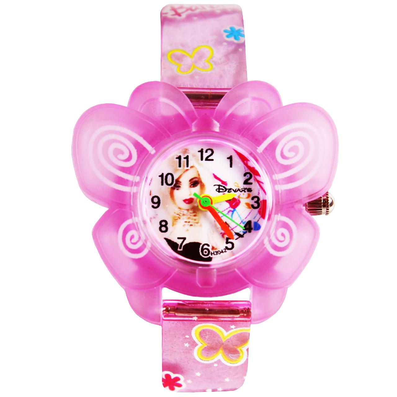 ساعت مچی عقربه ای دخترانه دیوارز مدل D-02