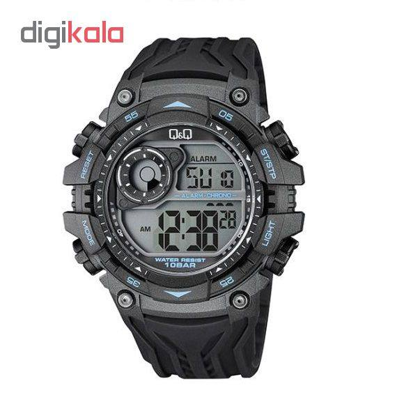خرید ساعت مچی دیجیتال مردانه کیو اند کیو مدل M157J003Y