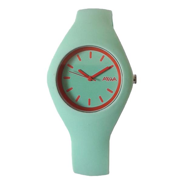 ساعت مچی عقربه ای زنانه آیوا مدل AIWA9338 / SAB-GHER به همراه دستمال مخصوص نانو برند کلیر واچ