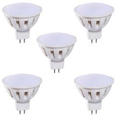 لامپ هالوژن ال ای دی 2.5 وات زد اف ار مدل ZS05  پایه GU5.3 بسته 5 عددی