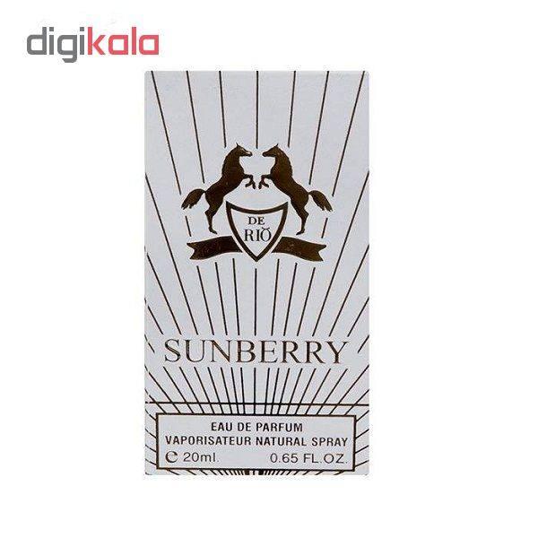 عطر جیبی زنانه ریو کالکشن مدل sunberry حجم 20 میلی لیتر