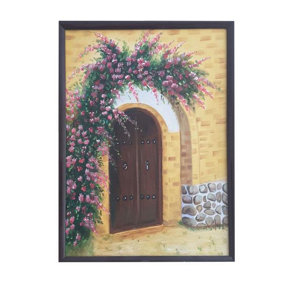 تابلو نقاشی طرح خانه عشق کد 05