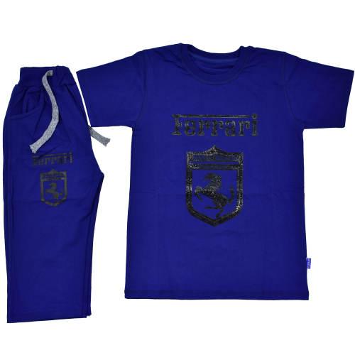 ست تی شرت و شلوارک پسرانه کد T131-15