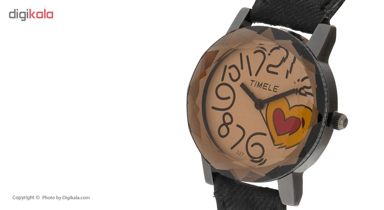 ساعت مچی عقربه ای زنانه تی می لی مدل GE4588