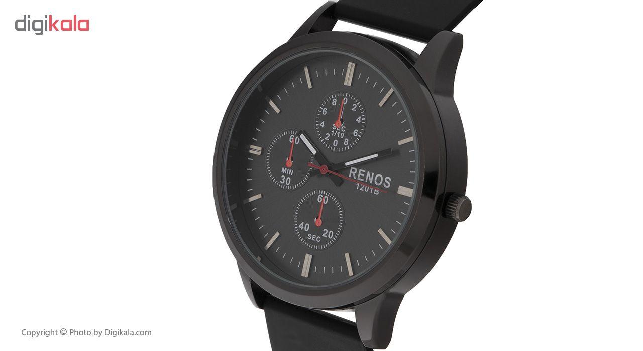 خرید ساعت مچی عقربه ای مردانه رنوس مدل RS-6875 | ساعت مچی