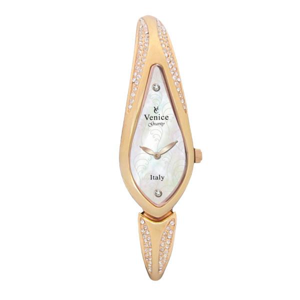 ساعت مچی عقربه ای زنانه ونیز مدل SV4004