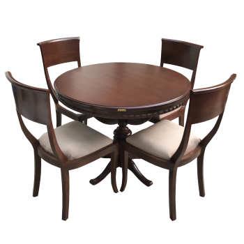 میز و صندلی ناهار خوری ایتالیایی اسپرسان چوب مدل SM23