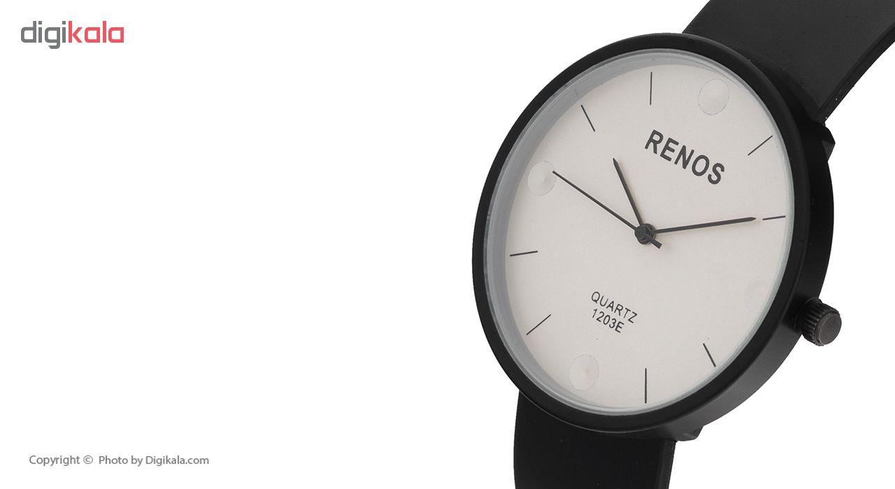 ساعت مچی عقربه ای مردانه رنوس کد rs-981