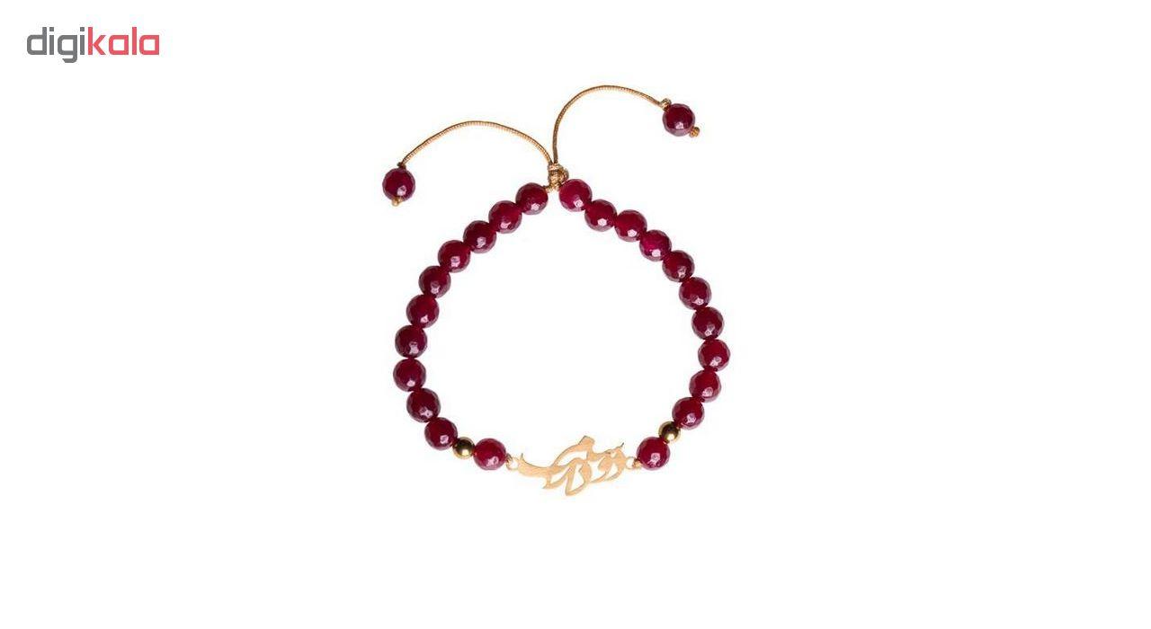 دستبند طلا 18عیار زنانه الن نار مدل EL179