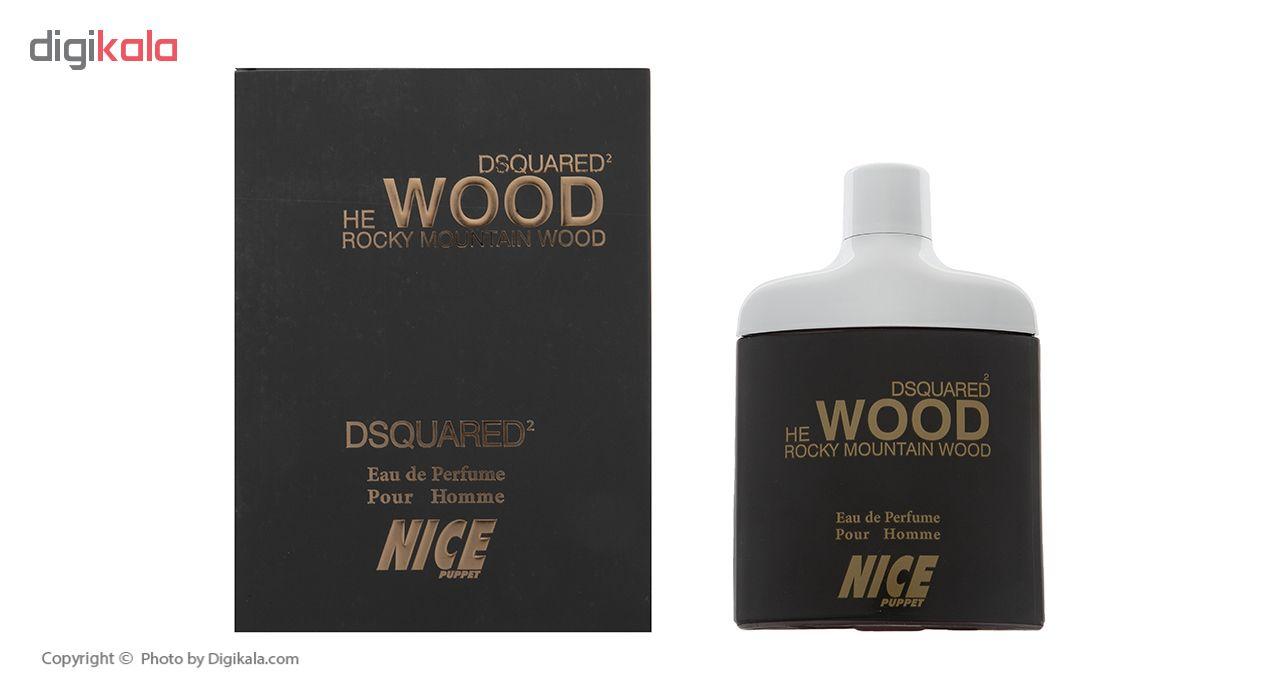 ادو پرفیوم مردانه نایس مدل Dsquared He Wood حجم 85 میلی لیتر