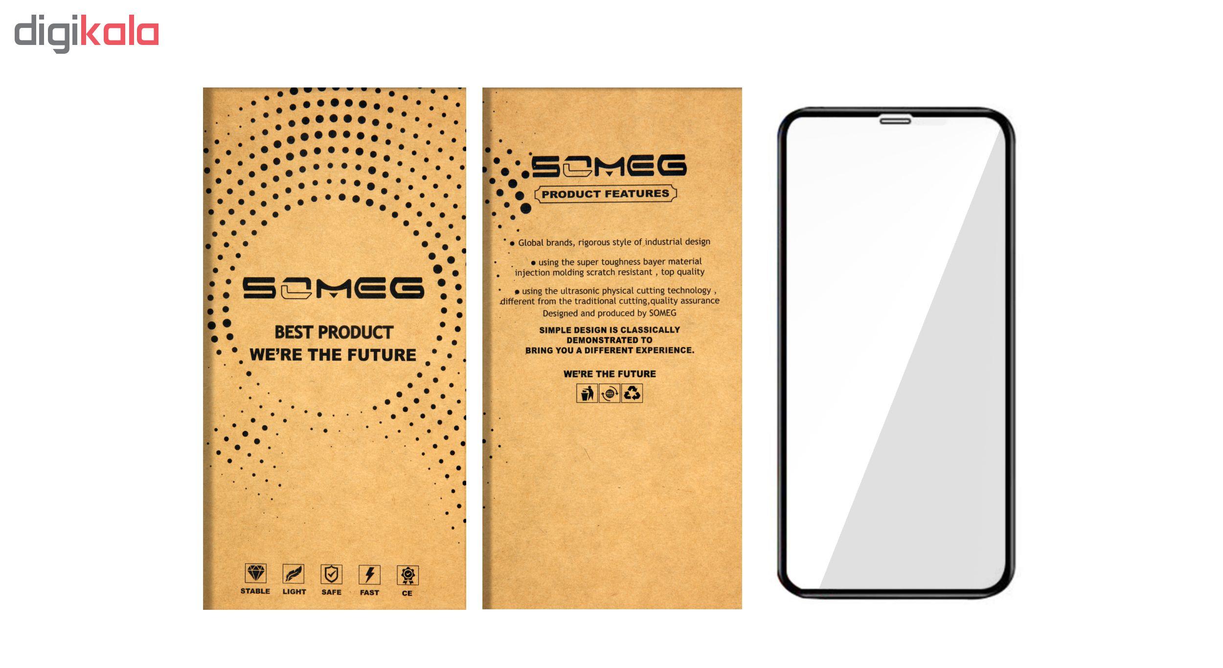 محافظ صفحه نمایش سومگ مدل 9-Nitro مناسب برای گوشی موبایل اپل iPhone X/Xs
