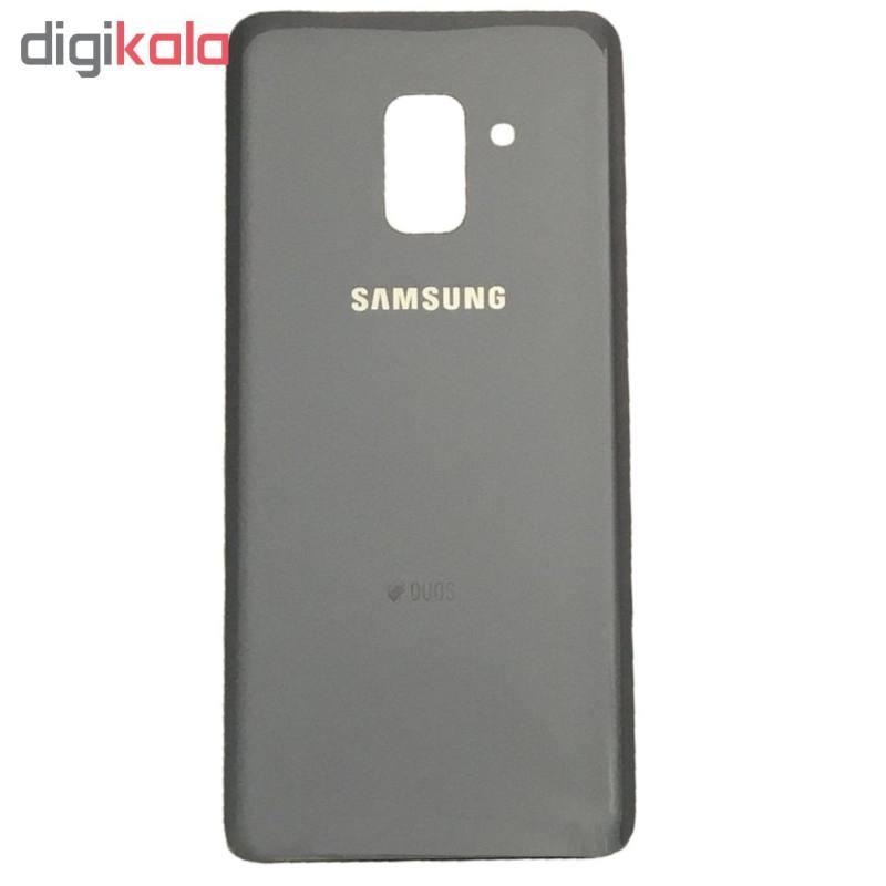 در پشت گوشی مدل 8P18 مناسب برای گوشی موبایل سامسونگ Galaxy A8 Plus 2018 DUOS main 1 3