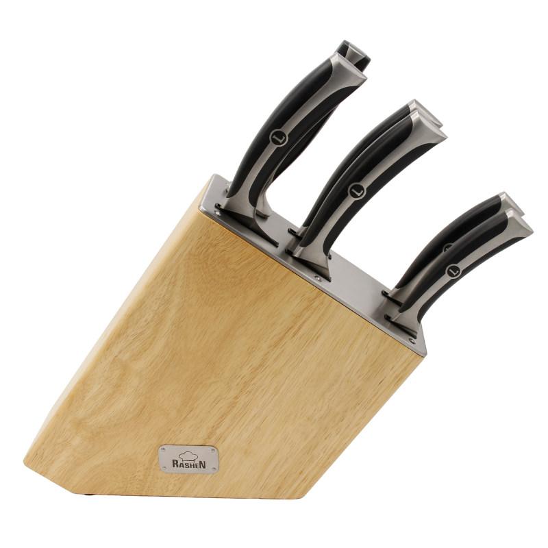 سرویس چاقوی ۷ پارچه راشن مدل Oyster 39771