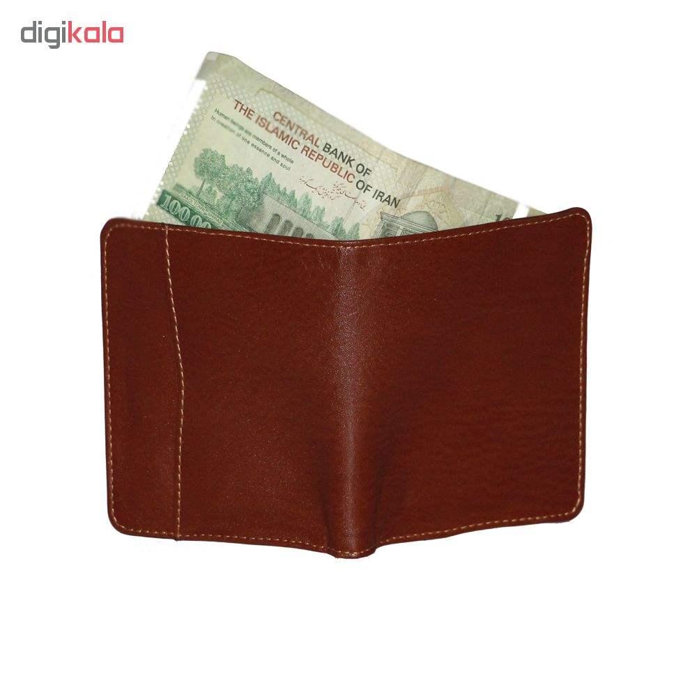 کیف پول مردانه آدین چرم مدل DM68 main 1 3