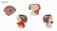 گلدان طرح دختر مدل DG022-26 مجموعه 4 عددی thumb 4