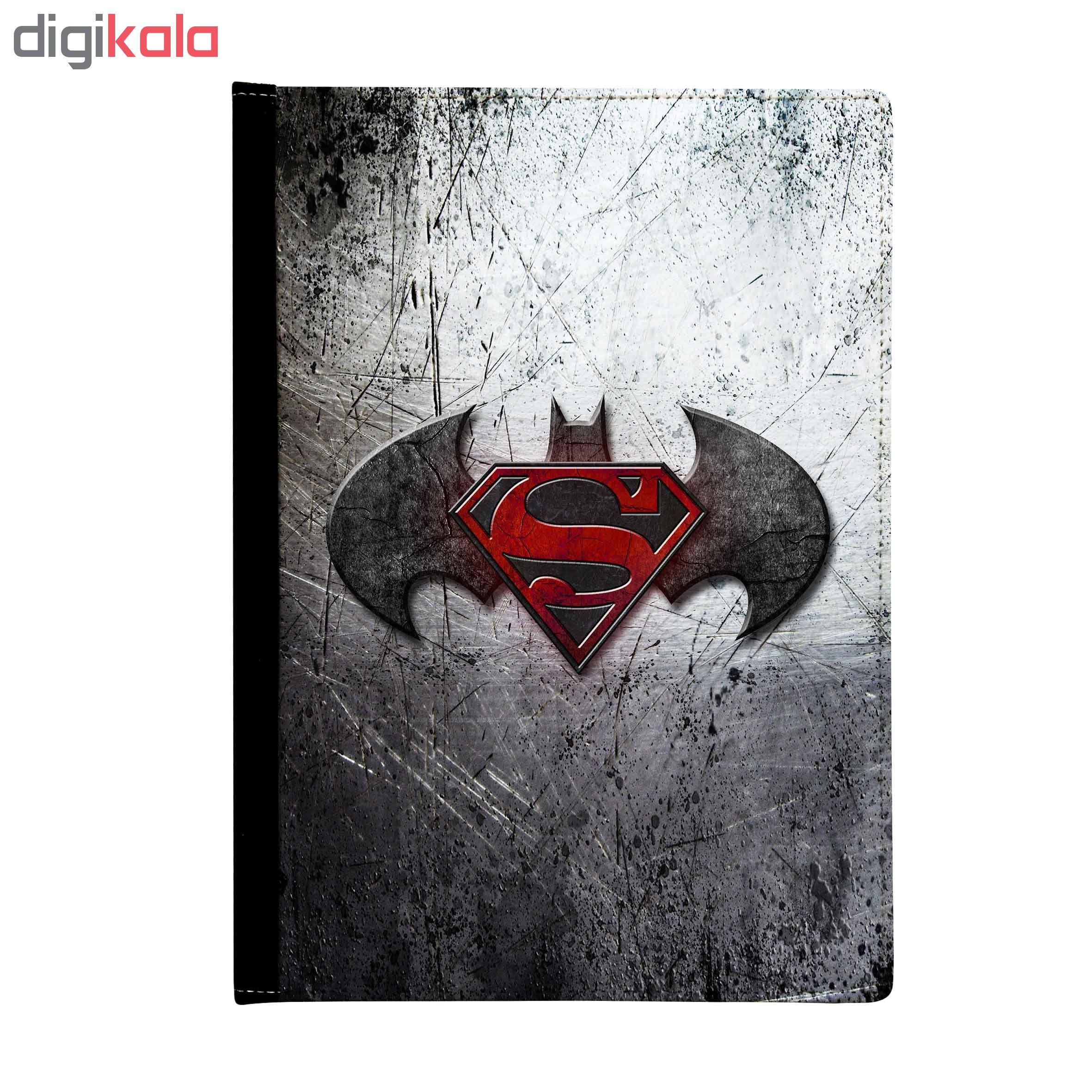 کلاسور طرح batman superman کد K00157