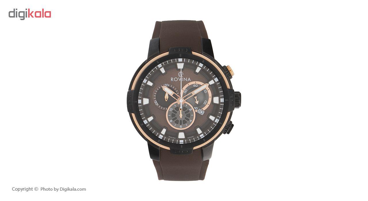 خرید ساعت مچی عقربه ای مردانه روینا مدل 51186-G5SBr