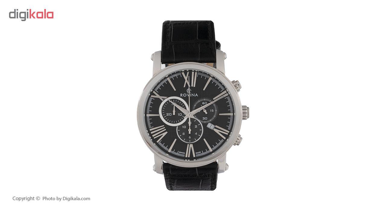 خرید ساعت مچی عقربه ای مردانه روینا مدل 51179-G1SB