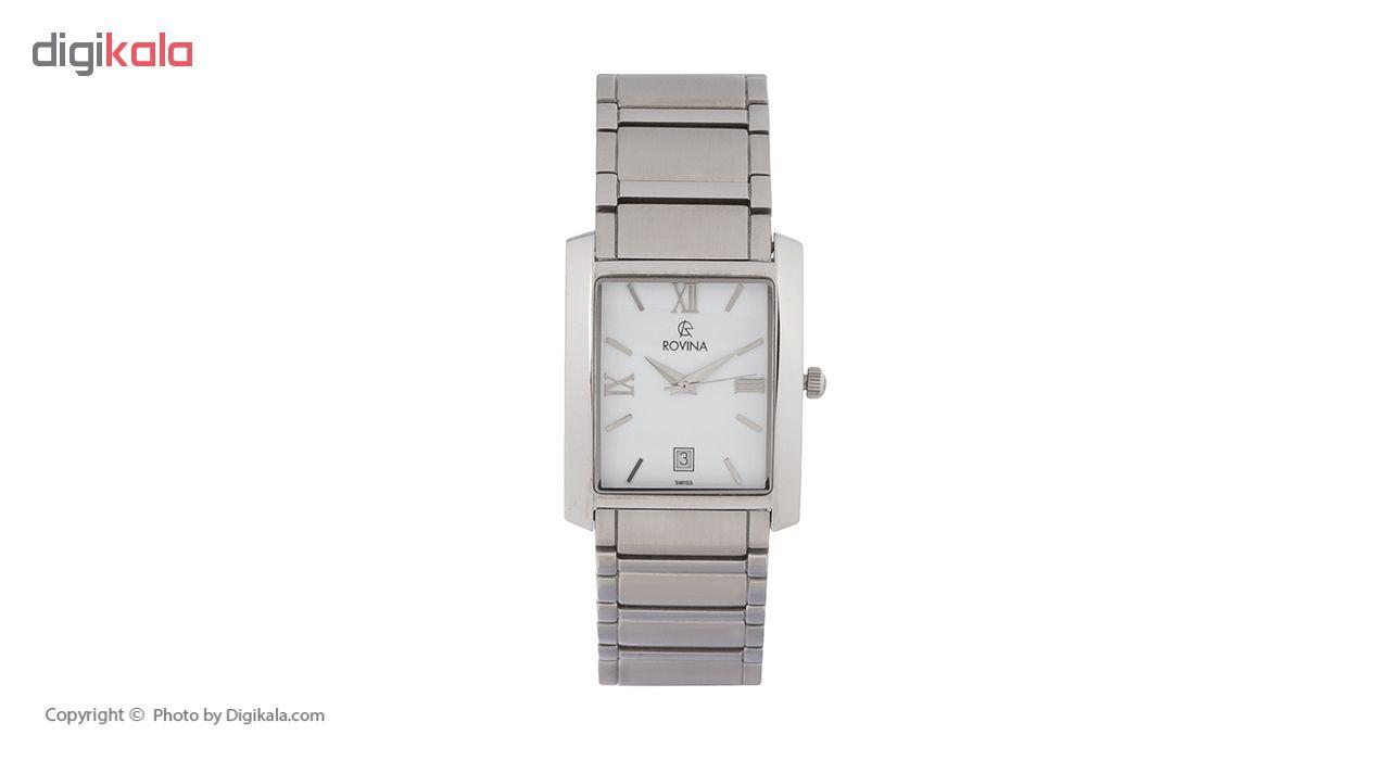 خرید ساعت مچی عقربه ای مردانه روینا مدل 22126-G1BW
