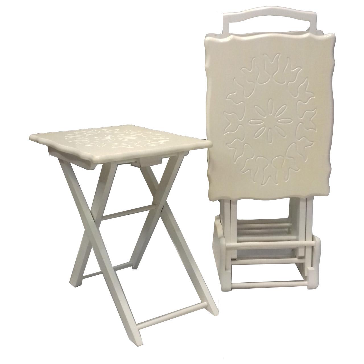 قیمت خرید میز عسلی کد classic tp432 مجموعه چهار عددی اورجینال