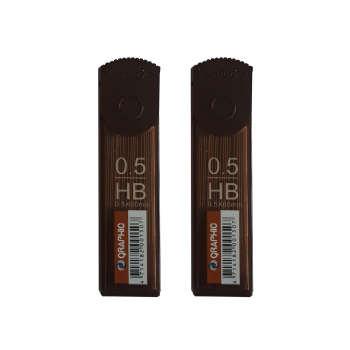 نوک مداد نوکی 0.5 میلی متری گرافیک مدل 07 بسته 2 عددی