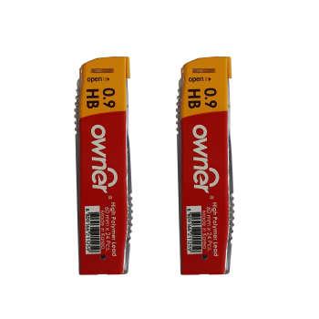 نوک مداد نوکی 0.9 میلیمتری اونر مدل High Polymer کد 1 بسته 2 عددی