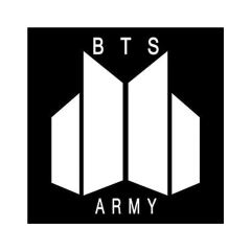 استیکر طرح BTS ARMY