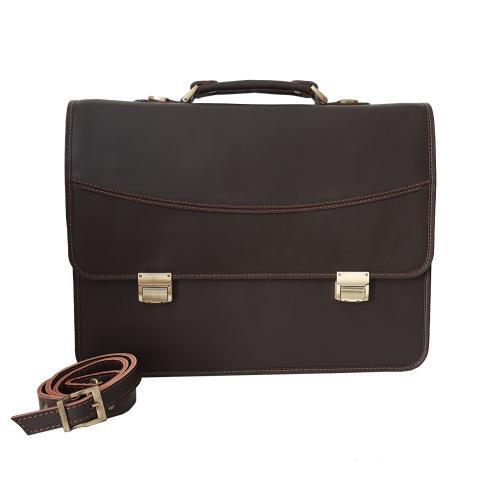 کیف اداری تمام چرم طبیعی  کد 10080