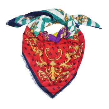 روسری زنانه مدل طرح دار کد K1