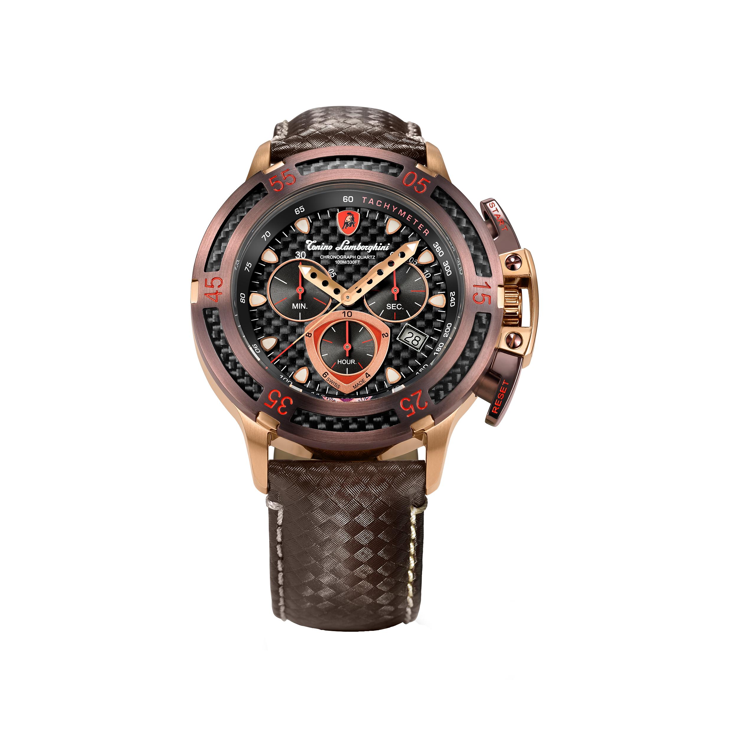 ساعت مچی عقربه ای مردانه تونینو لامبورگینی مدل WHEELS 2990 - 05