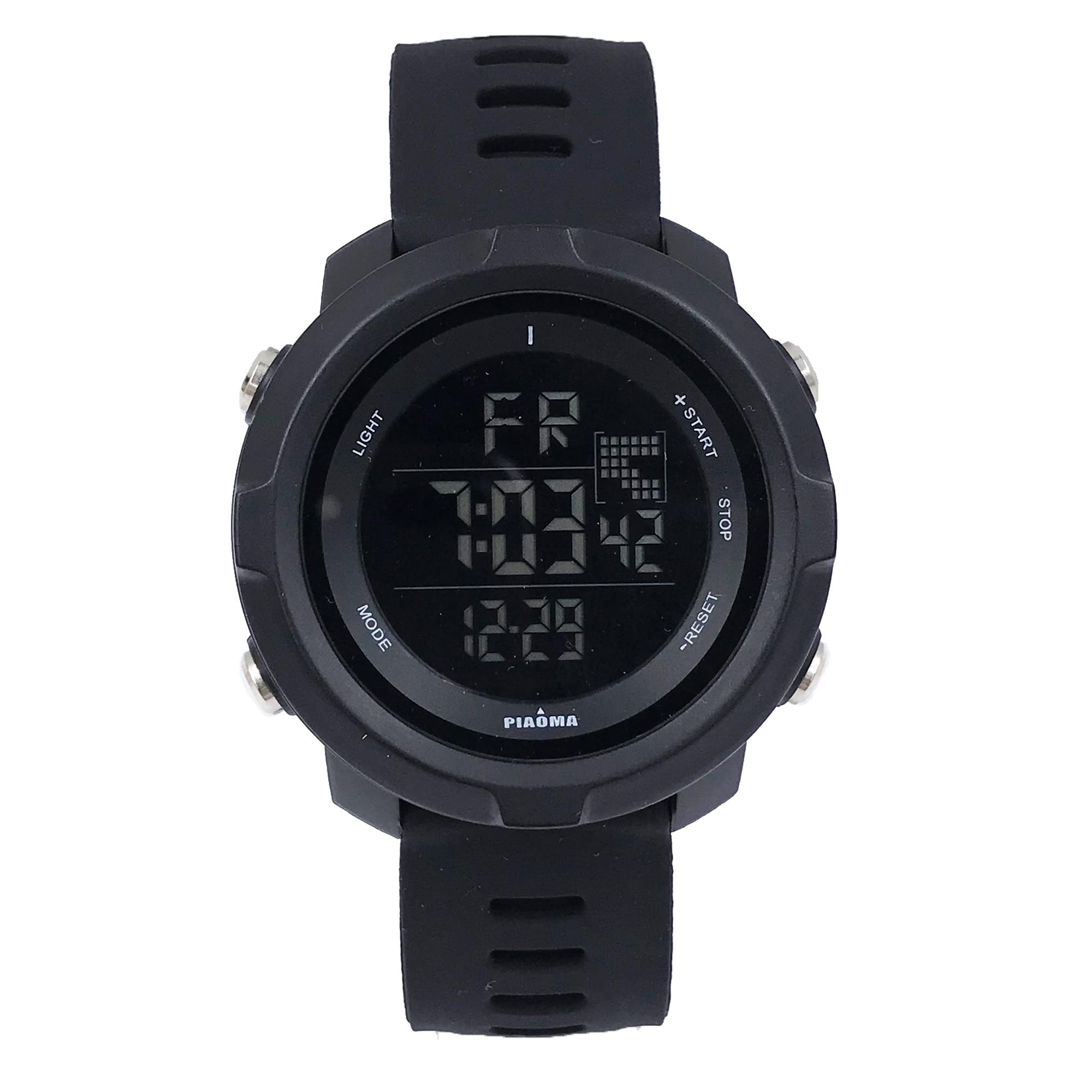 ساعت مچی دیجیتال مردانه پیااوما مدل P-500-1              👙