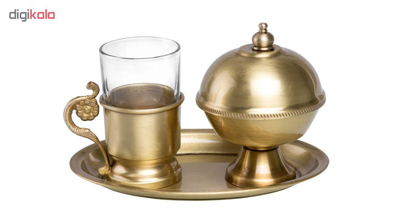 سرویس چای خوری 3 پارچه کد 500