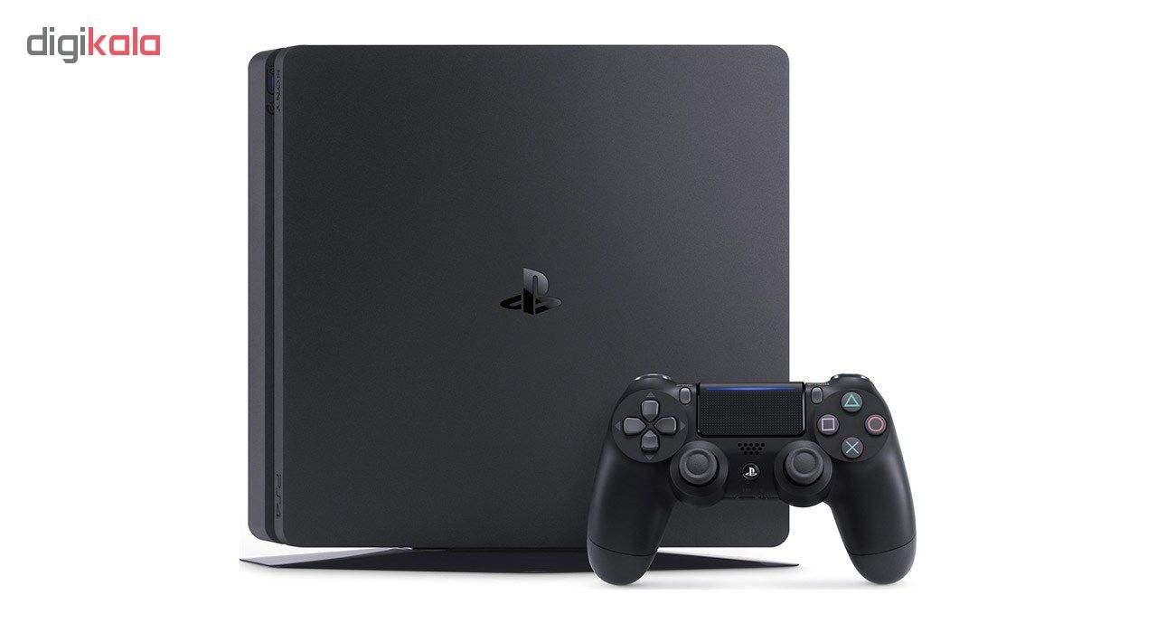 مجموعه کنسول بازی سونی مدل Playstation 4 Slim ریجن 2 کد CUH-2216B ظرفیت 1 ترابایت به همراه 20 عدد بازی  thumb 7