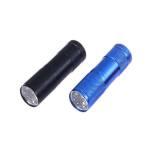 چراغ قوه UV فلیکسبل مدل UV blacklight 9 LED مجموعه دو عددی