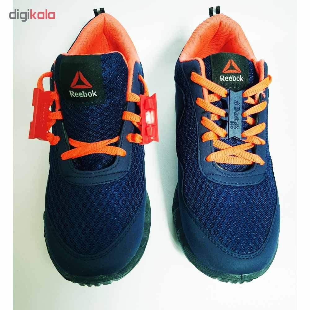 بند کفش مغناطیسی بستاک مدل اِکو E112 رنگ قهوه ای main 1 17