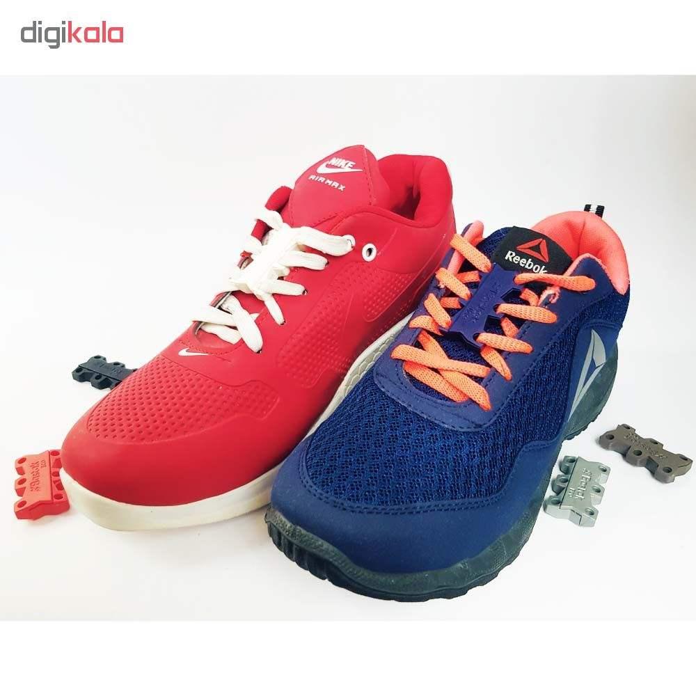 بند کفش مغناطیسی بستاک مدل اِکو E110 رنگ نقره ای main 1 18