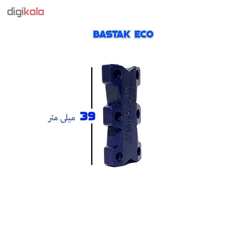 بند کفش مغناطیسی بستاک مدل اِکو E110 رنگ نقره ای main 1 19