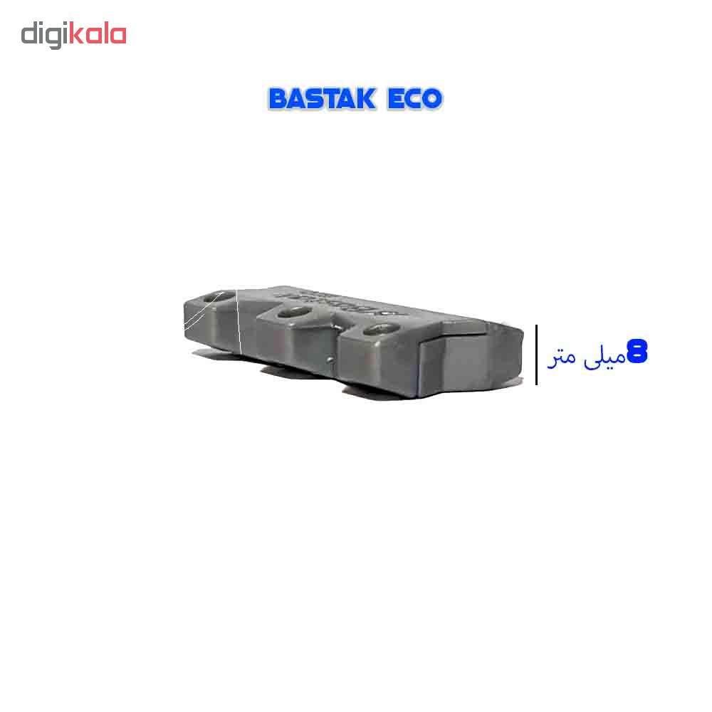 بند کفش مغناطیسی بستاک مدل اِکو E110 رنگ نقره ای main 1 20