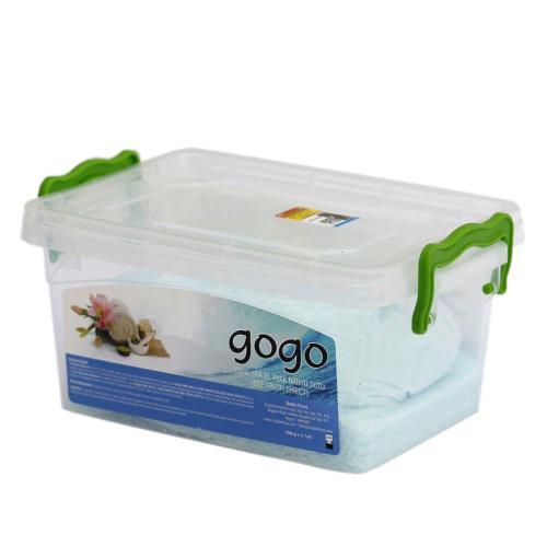 نمک دریایی حمام گوگو مدل S1 وزن 1500 گرم