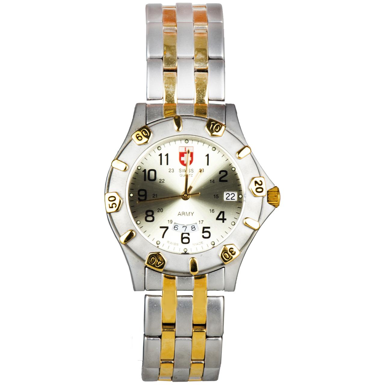 ساعت مچی عقربه ای سوئیس آرمی مدل 1271BIMB