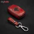 جاسوئیچی خودرو چرم طبیعی کد ct-074 مناسب برای سمند کلید تاشو (عرضه کالا) thumb 1