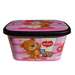 جعبه اسباب بازی مدمان مدل TEDDY به همراه یک عدد ناخنگیر عروسکی سایز ۱