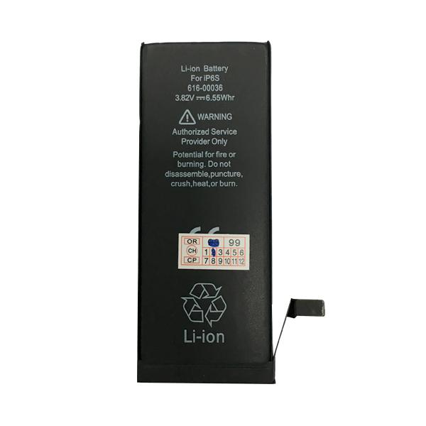 باتری مدل 00033-616 APN با ظرفیت 1715 میلی آمپر ساعت مناسب برای گوشی موبایل اپل iPhone 6S