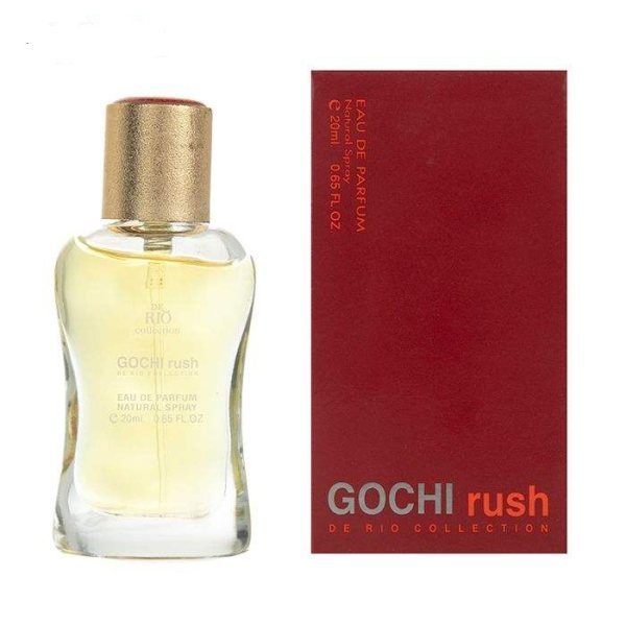 خرید اینترنتی عطر جیبی زنانه ریو کالکش مدل Gucci Rush حجم 20 میلی لیتر اورجینال