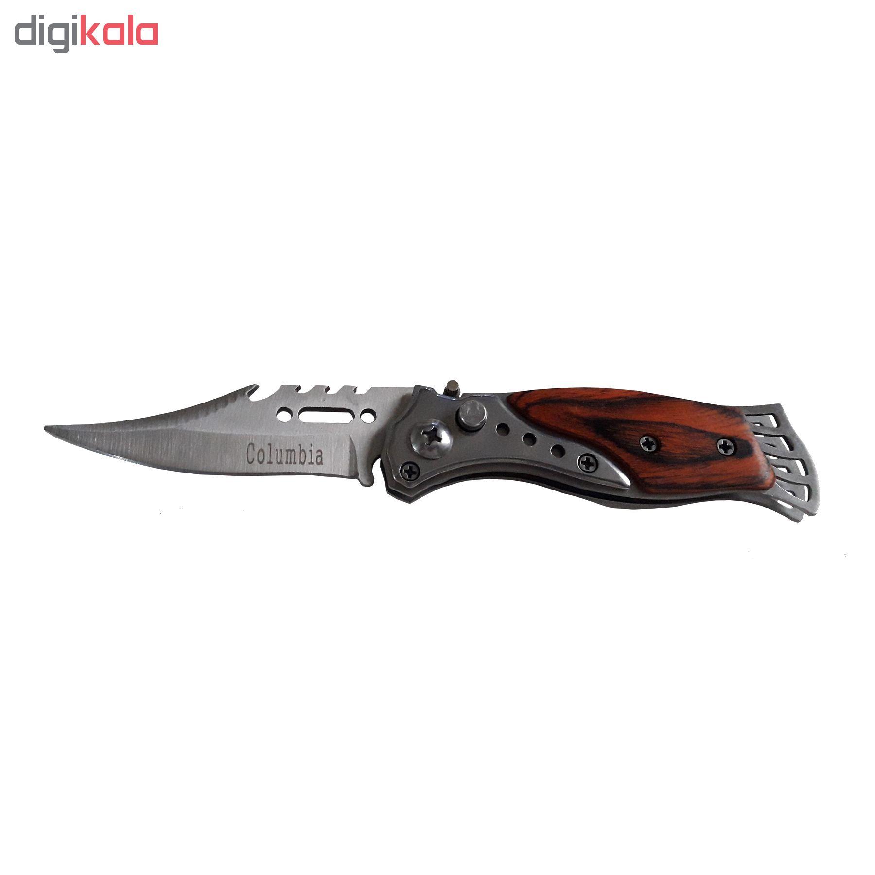 چاقو سفری کلمبیا مدل BS1350