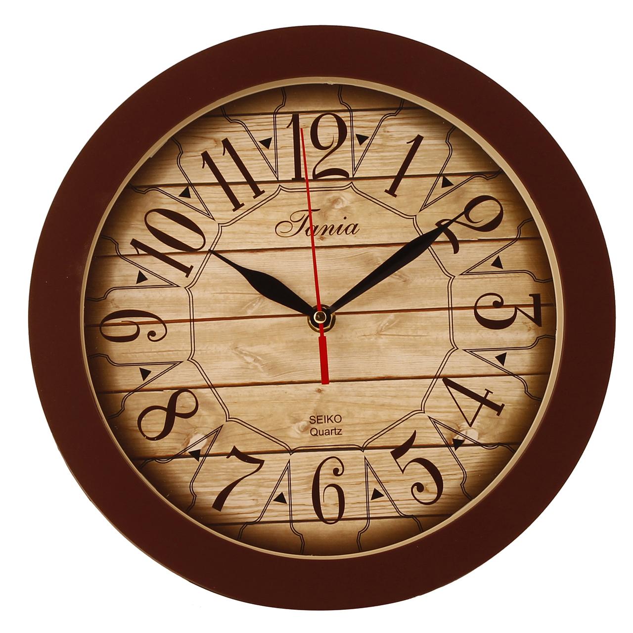 خرید ساعت دیواری تانیا مدل ABB کد DLT-F833