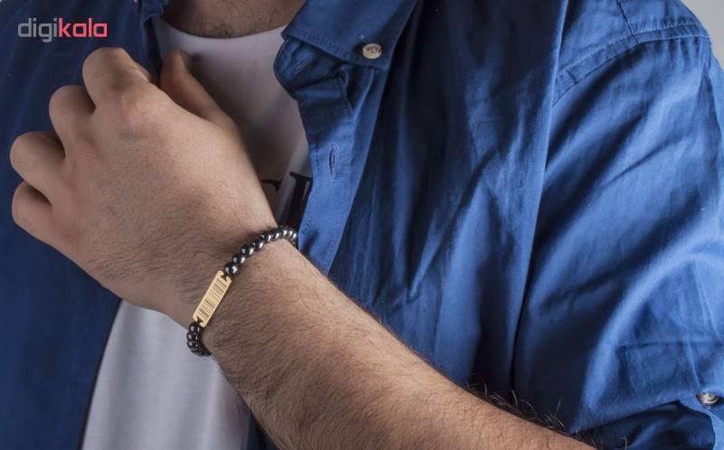 دستبند ریسه گالری مدل Ri3-H1125-Gold
