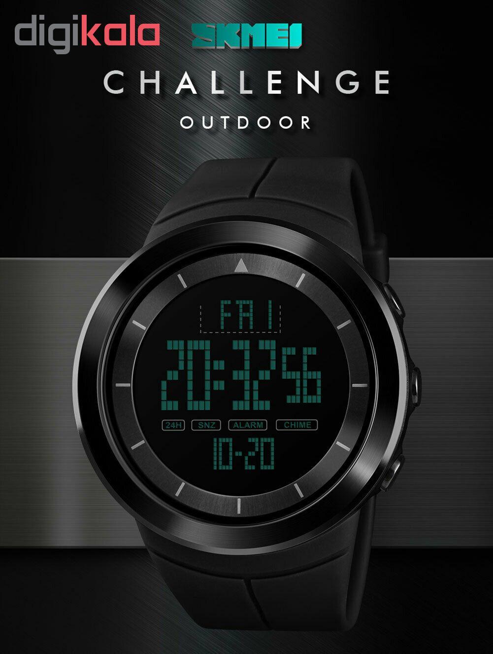 خرید ساعت مچی دیجیتال مردانه اسکمی مدل 1402